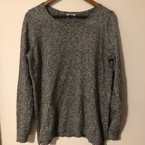 Dark heather gray sweater